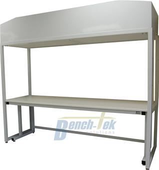 Vertical Laminar Flow Hepa Workstation Bench Tek Solutions