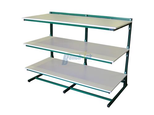 Modular Unistrut Rack Bench Tek Solutions