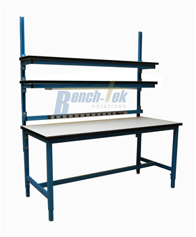 Adjustable Leg Unistrut Channel Workbench Bench Tek